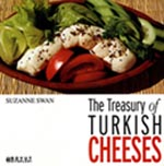 Image of English front cover of Turkish Cheeses book
